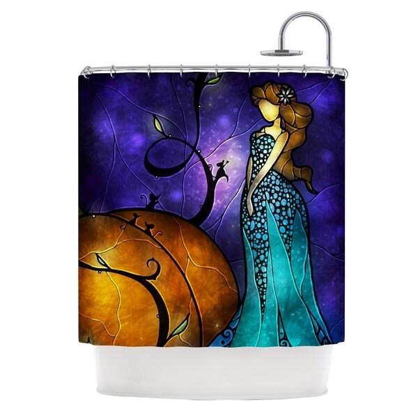 KESS InHouse Mandie Manzano Cinderella Shower Curtain (69x70)