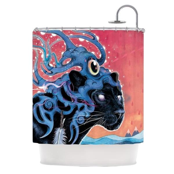 KESS InHouse Mat Miller Farseer Shower Curtain (69x70)
