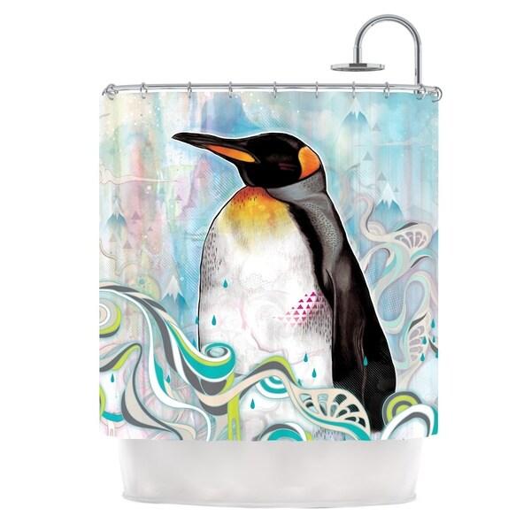 KESS InHouse Mat Miller King Shower Curtain (69x70)