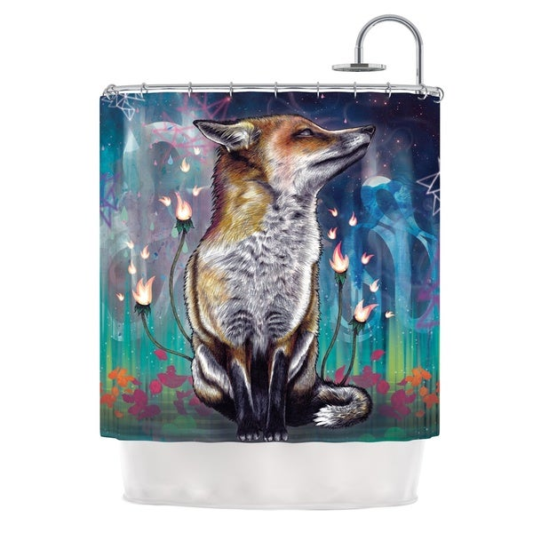 KESS InHouse Mat Miller There is a Light Shower Curtain (69x70)