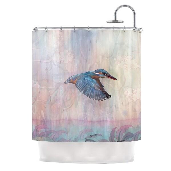 KESS InHouse Mat Miller Terror from Above Shower Curtain (69x70)
