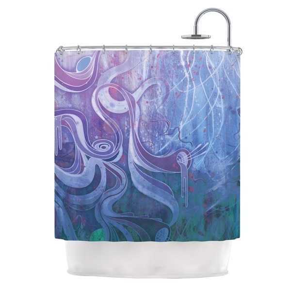 KESS InHouse Mat Miller Electric Dreams II Shower Curtain (69x70)