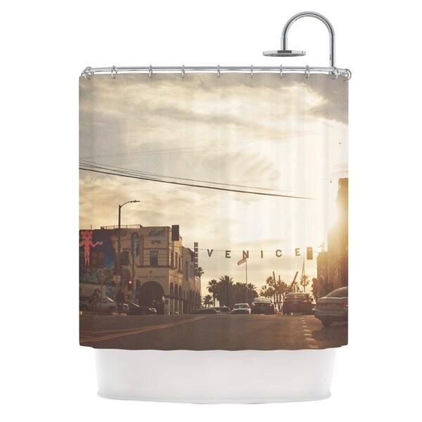 KESS InHouse Myan Soffia Winter in Venice Clouds Sky Shower Curtain (69x70)
