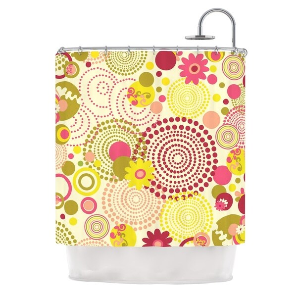 KESS InHouse Louise Machado Poa Shower Curtain (69x70)