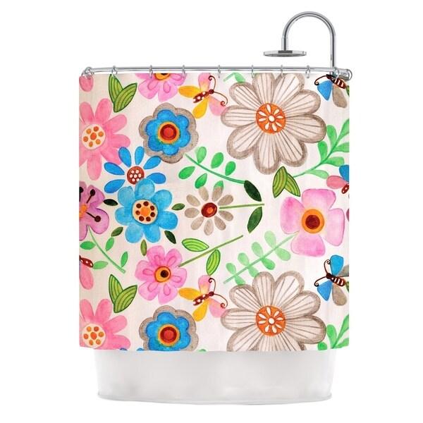 KESS InHouse Louise Machado The Garden Shower Curtain (69x70)
