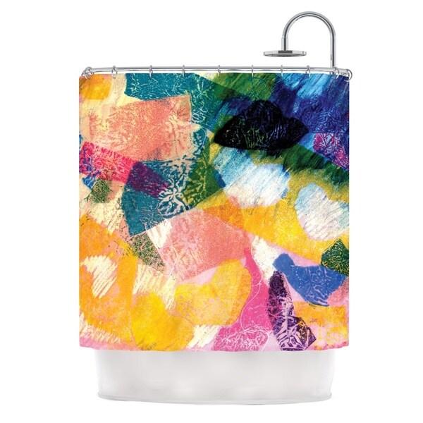 KESS InHouse Louise Machado Texture Shower Curtain (69x70)