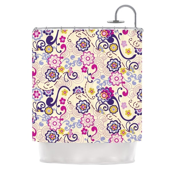 KESS InHouse Louise Machado Arabesque Shower Curtain (69x70)
