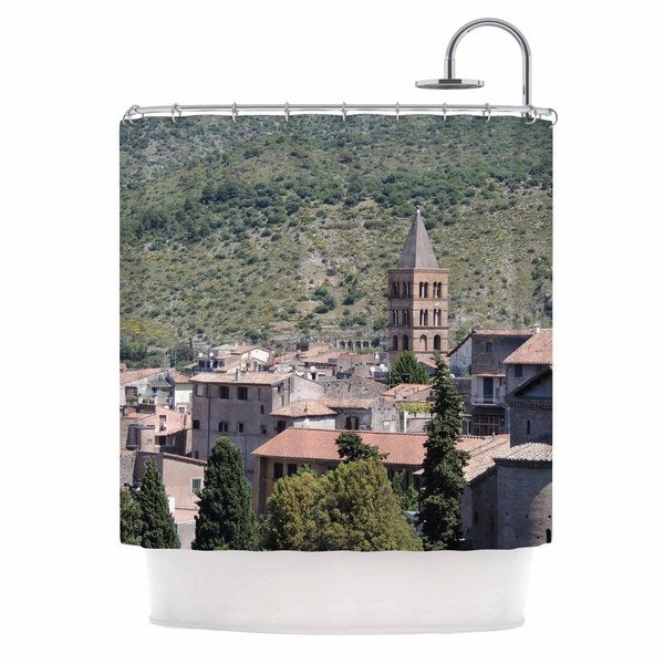 KESS InHouse Nick Nareshni Florence Architecture Travel Photograghy Shower Curtain (69x70)