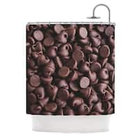 KESS InHouse Libertad Leal Yay! Chocolate Candy Shower Curtain (69x70)
