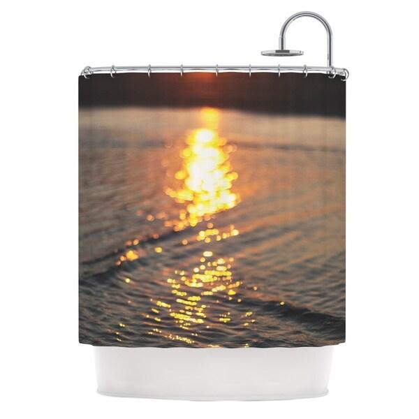 KESS InHouse Libertad Leal Still Waters Sunset Shower Curtain (69x70)
