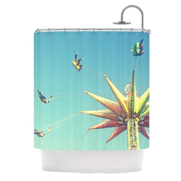 KESS InHouse Libertad Leal Flying Chairs Shower Curtain (69x70)