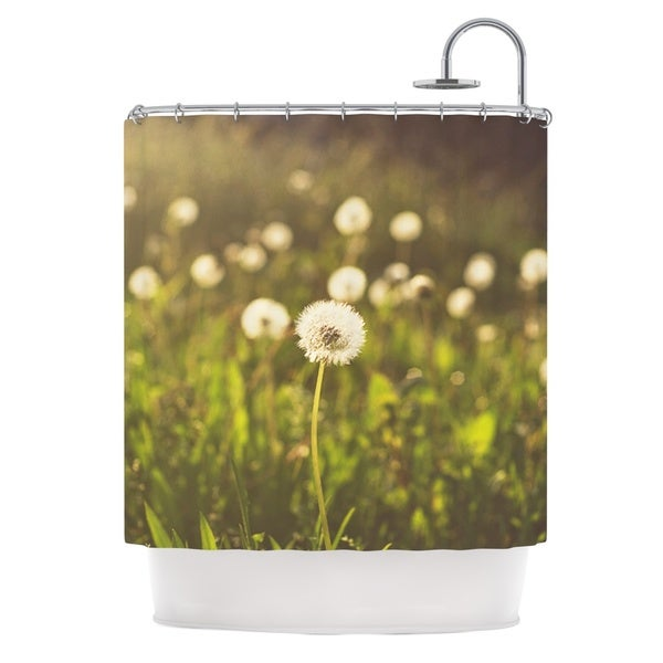 KESS InHouse Libertad Leal As You Wish Dandelions Shower Curtain (69x70)