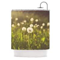 KESS InHouse Libertad Leal As You Wish Dandelions Shower Curtain (69x70)