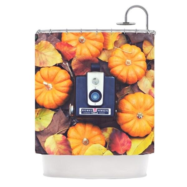 KESS InHouse Libertad Leal The Four Seasons: Fall Shower Curtain (69x70)