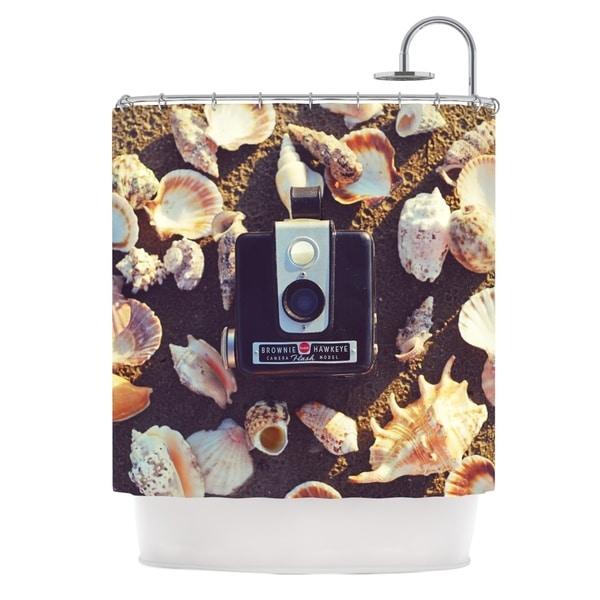 KESS InHouse Libertad Leal The Four Seasons: Summer Shower Curtain (69x70)