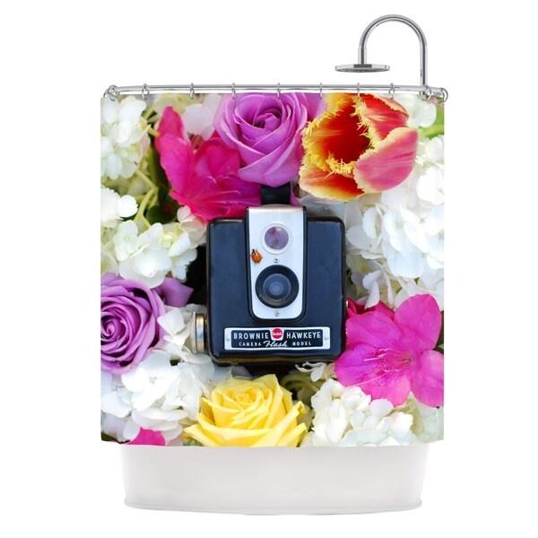 KESS InHouse Libertad Leal The Four Seasons: Spring Shower Curtain (69x70)