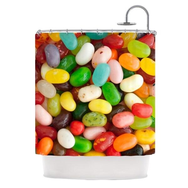 KESS InHouse Libertad Leal I Want Jelly Beans Shower Curtain (69x70)