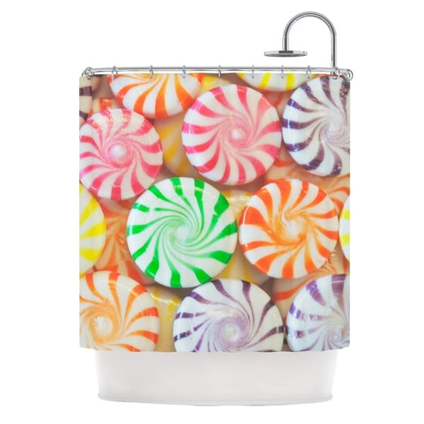 KESS InHouse Libertad Leal I Want Candy Shower Curtain (69x70)