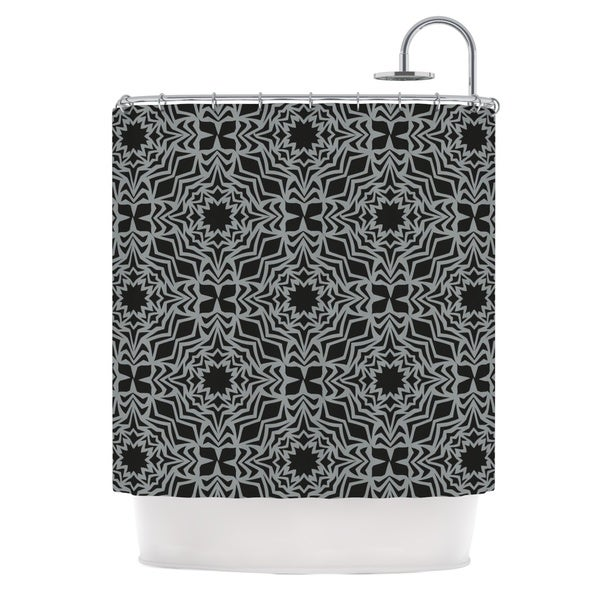 KESS InHouse Miranda Mol Optical Fest Shower Curtain (69x70)