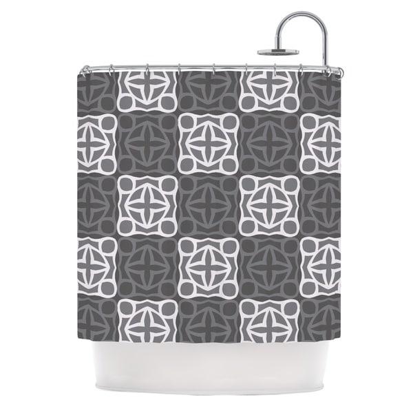 KESS InHouse Miranda Mol Granny Goes Modern Shower Curtain (69x70)