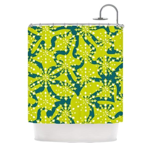 KESS InHouse Miranda Mol Festive Splash Shower Curtain (69x70)