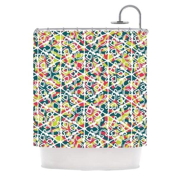 KESS InHouse Miranda Mol Cool Yule Shower Curtain (69x70)
