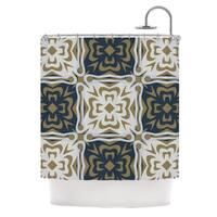 KESS InHouse Miranda Mol Contemporary Granny Shower Curtain (69x70)