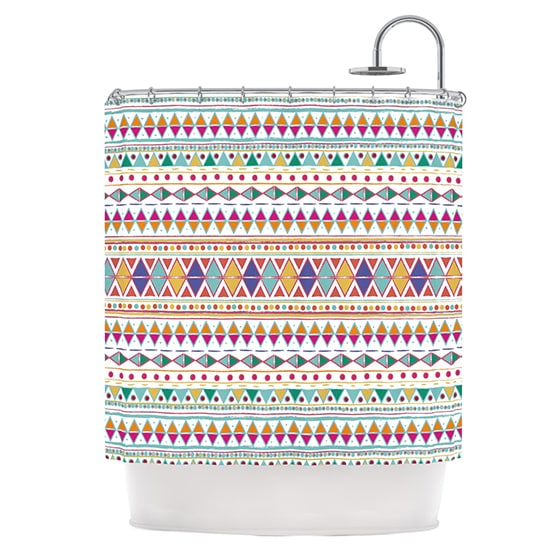 KESS InHouse Nika Martinez Native Fiesta Shower Curtain (69x70)