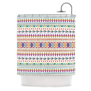 KESS InHouse Nika Martinez Native Fiesta Shower Curtain (69x70)