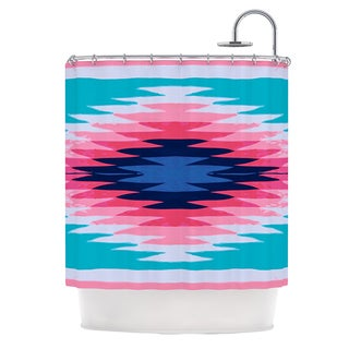 KESS InHouse Nika Martinez Surf Lovin II Shower Curtain (69x70)