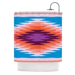KESS InHouse Nika Martinez Surf Lovin Hawaii Shower Curtain (69x70)