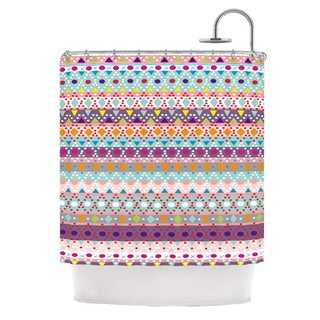 KESS InHouse Nika Martinez Ayasha Shower Curtain (69x70)