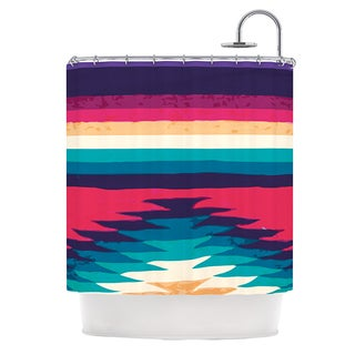 KESS InHouse Nika Martinez Surf Shower Curtain (69x70)