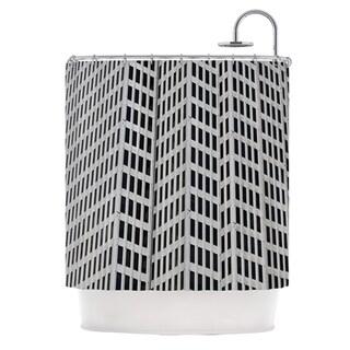KESS InHouse Maynard Logan The Grid Shower Curtain (69x70)