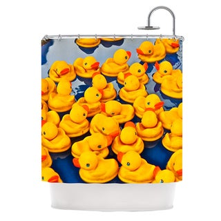 KESS InHouse Maynard Logan Duckies Shower Curtain (69x70)