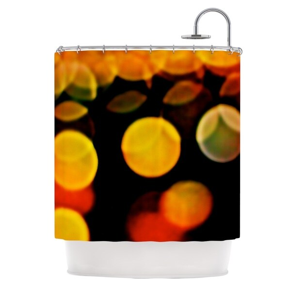 KESS InHouse Maynard Logan Lights Shower Curtain (69x70)