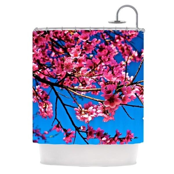KESS InHouse Maynard Logan Flowers Shower Curtain (69x70)