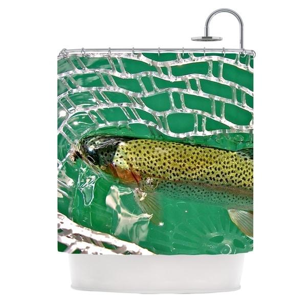 KESS InHouse Maynard Logan Catch Shower Curtain (69x70)