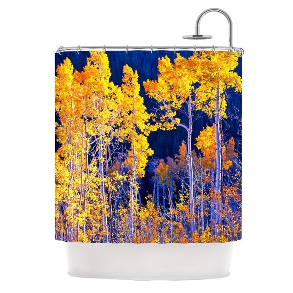 KESS InHouse Maynard Logan Trees Shower Curtain (69x70)