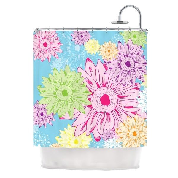 KESS InHouse Laura Escalante Summer Time Shower Curtain (69x70)