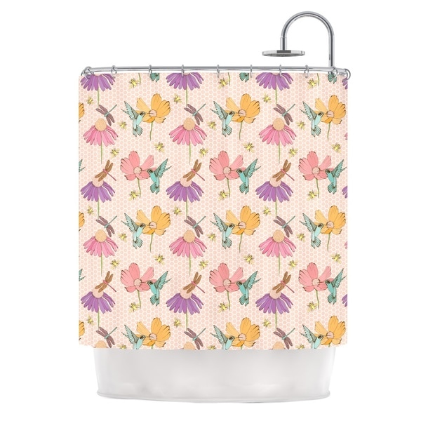 KESS InHouse Laura Escalante Magic Garden Shower Curtain (69x70)