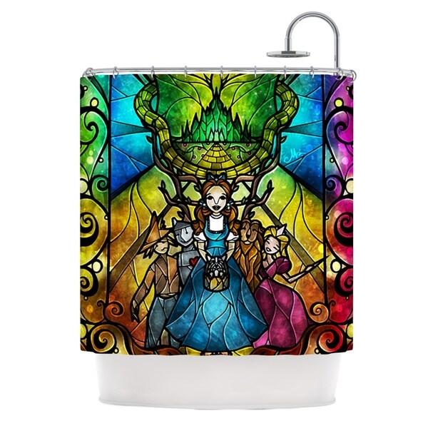 KESS InHouse Mandie Manzano Wizard of Oz Fantasy Shower Curtain (69x70)