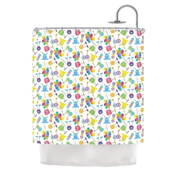KESS InHouse Laura Escalante Fun Creatures Shower Curtain (69x70)