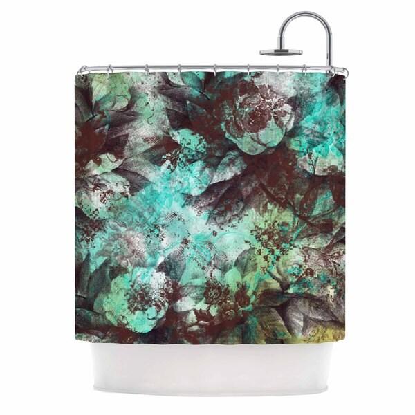 KESS InHouse Li Zamperini Magic Beige Pink Shower Curtain (69x70)