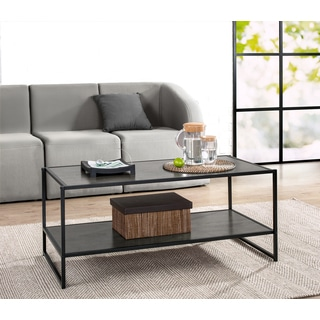 Priage Deluxe Steel/Wood Coffee Table