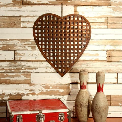Rustic Woven Heart