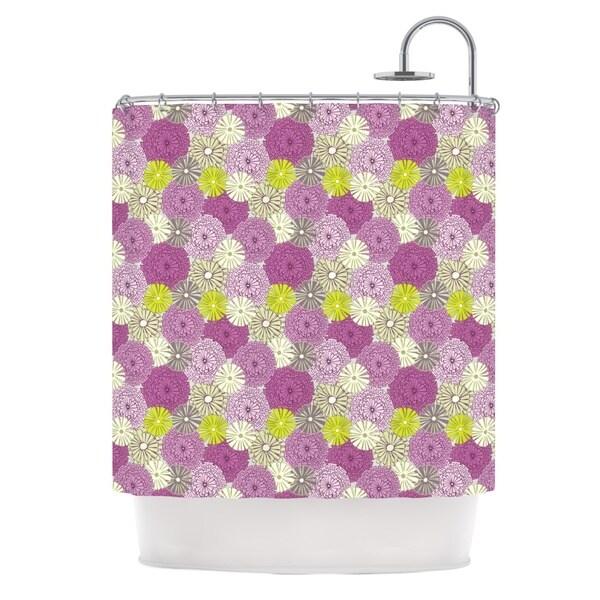 KESS InHouse Julie Hamilton Rhapsody Purple Pink Shower Curtain (69x70)