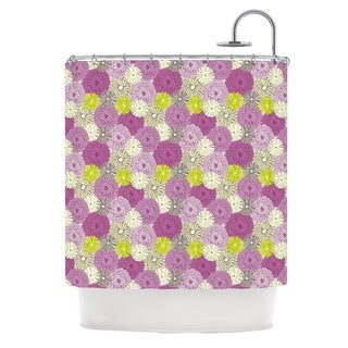 KESS InHouse Julie Hamilton Rhapsody Purple Pink Shower Curtain (69x70)