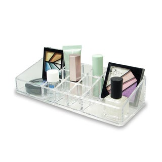 Acrylic 11 Compartment Cosmetic Organizer