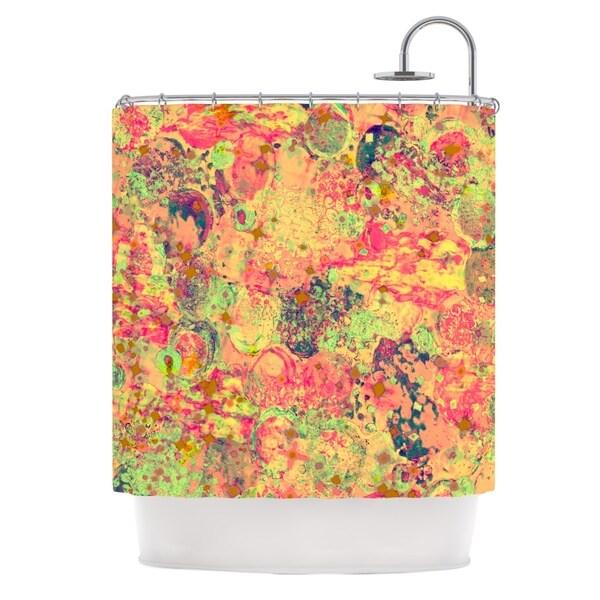 KESS InHouse Ebi Emporium Time For Bubbly Shower Curtain (69x70)